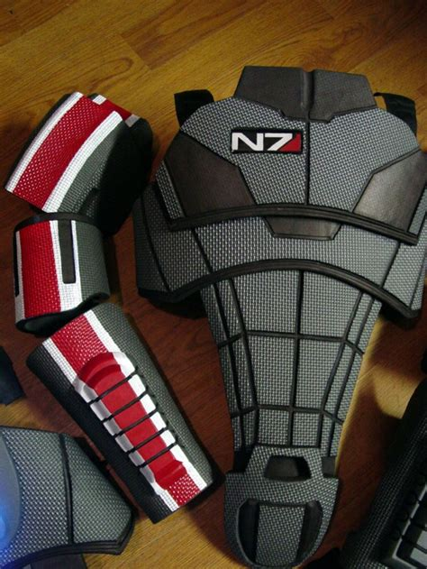 mass effect 3 n7 armor template sci fi foam armor templates www imgkid the image