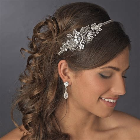 Wedding Hair Accessories Direct by Vintage Side Bridal Headpiece Headband Hp 613