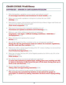 crash course worksheets crash course world history worksheets episodes 31 35 by elise