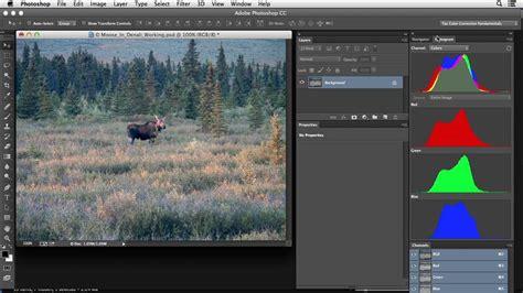 photoshop cs3 color correction tutorial photoshop color correction low contrast