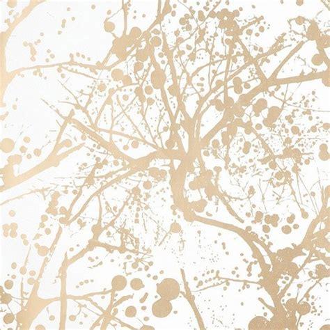 Plan Maison En Longueur 5111 by Papier Peint Or Style Fleuri Abstrait