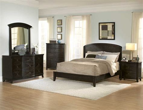 bedroom collection homelegance avalon dark low profile bedroom collection