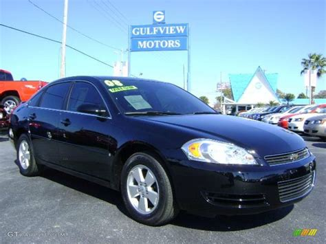 2008 impala black 2008 black chevrolet impala lt 2596626 gtcarlot