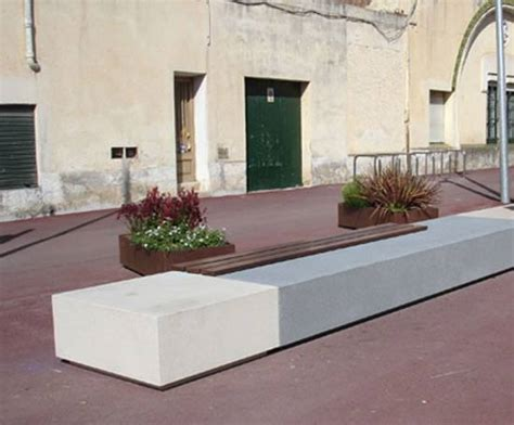 stone and wood bench escofet longo cast stone and wood bench marshalls