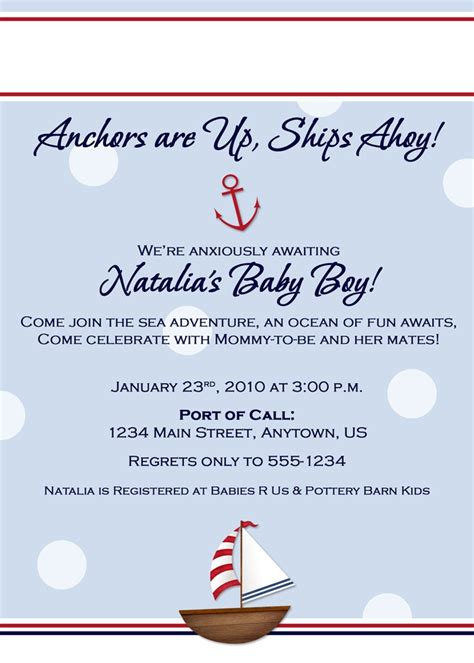 Nautical Invitation Wording Oxyline C9a7394fbe37 Nautical Bridal Shower Invitation Template
