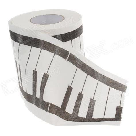 white pattern paper roll novelty piano keys pattern toilet paper 3 layer roll