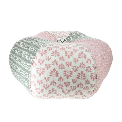 Pink Patchwork - pink patchwork pouffe by ella