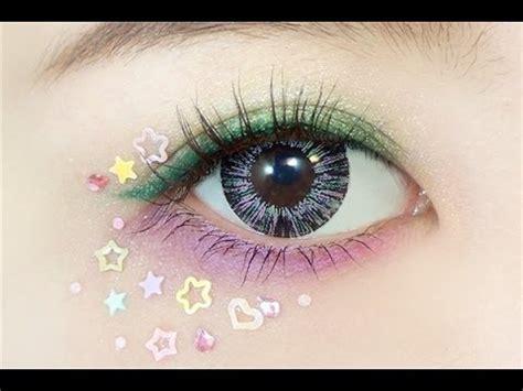 Eyeliner Harajuki 2 In 1 how to harajuku colorful eye makeup