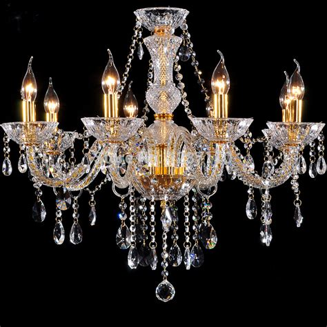 China Chandeliers 8 Arms Gold Chandelier L Light Modern Classic Chandelier Lighting For Living