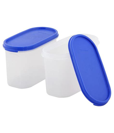 Tupperware Pack tupperware multicolor polypropylene container pack of 2