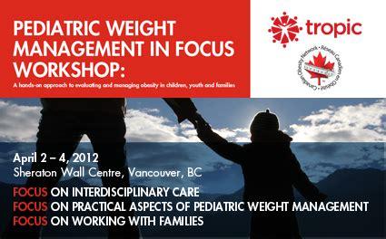 weight management pediatrics paediatric weight management in focus workshop dr