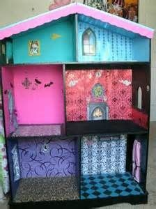 diy monster high doll house monster high doll house ideas on pinterest monster high dolls monster high house
