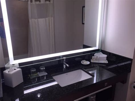 bath vanity black quartz countertop picture of