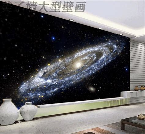 Galaxy Wallpaper For Ceiling by Free Shipping Bright Way Galaxy Nebula Wallpaper Universe Theme Wallpaper Living Room