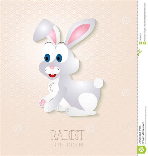 clipart new year rabbit zodiac set year of the rabbit stock photography
