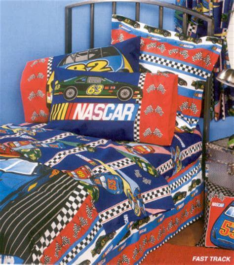 Nascar Bedding Set Nascar Fast Track Sheet Set