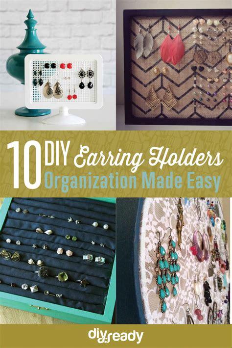10 diy earring holder ideas diy projects craft ideas how
