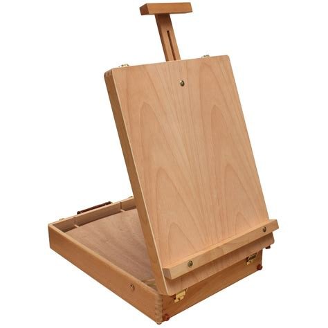 Art Alternatives Merced Table Sketch Box Easel Desk Easel