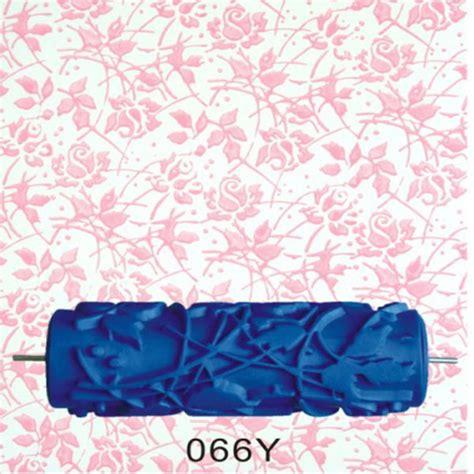 texture pattern paint roller 15cm empaistic texture pattern blue rubber painting paint