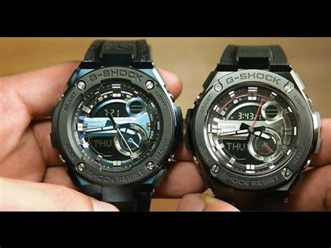 Casio G Shock Gst 210b 1a Original Garansi Resmi casio g steel gst 200cp 2a vs gst 210b 1a to