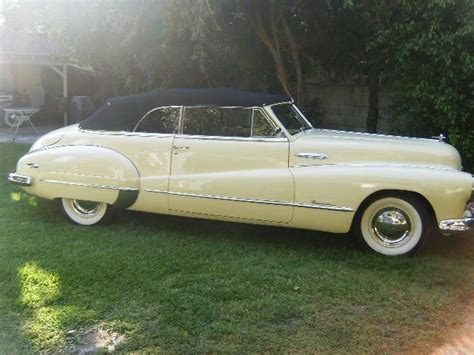 1948 buick convertible fireball 8 same owner for