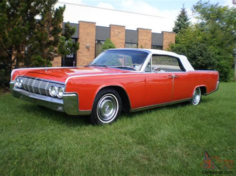 64 lincoln convertible 64 lincoln continental 4dr convertible