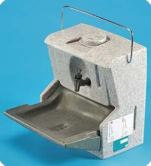 No Plumbing Sink portable sink units with no plumbing or electrical power required