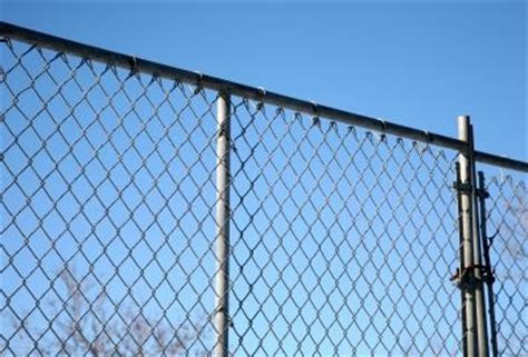 home design studio chain link wall d cor how to install a chain link fence ehow