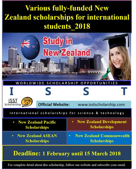 Us Mba Scholarships For International Students by Various Fully Funded New Zealand Scholarships For