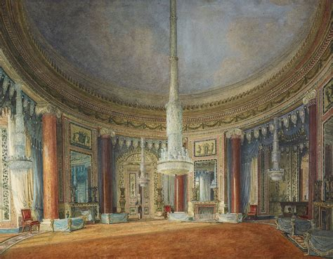 File Carlton House Circular Room By Charles Wild 1817 Royal Coll 451821 256251
