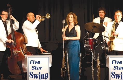 swing band five swing are coming to the parkway cinema and