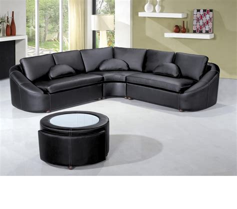 bonded leather sectional sofa dreamfurniture com 2224 modern bonded leather