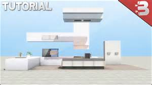 minecraft kitchen furniture minecraft modern kitchen tutorial