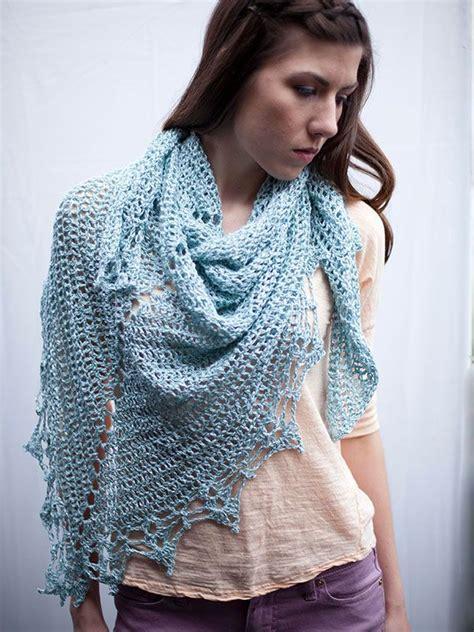 crochet shawl patterns free to print halstead light weight triangle shawl free printable pdf
