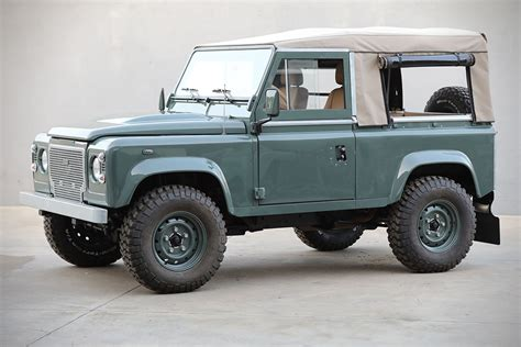 green land rover defender land rover defender d90 keswick green hiconsumption