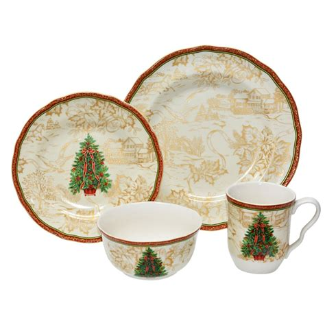 christmas dinnerware sets buy christmas dinnerware set
