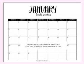 printable calendar templates free printable fully editable 2017 calendar templates in
