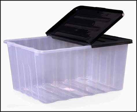 good Large Kitchen Design Ideas #2: large-plastic-containers-with-lids-for-storage.jpg