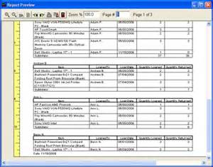 Tracking Report Template equipment tool tracker database tracking system for windows
