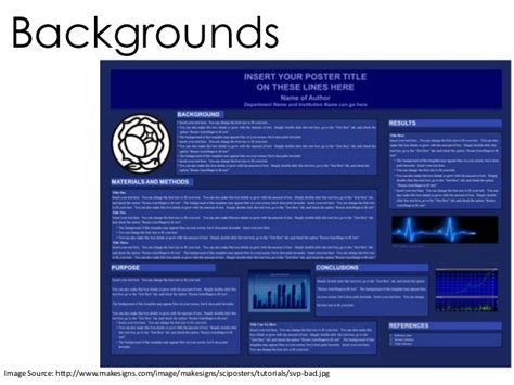 Academic And Research Posters Http Www Makesigns Sciposters Templates Aspx