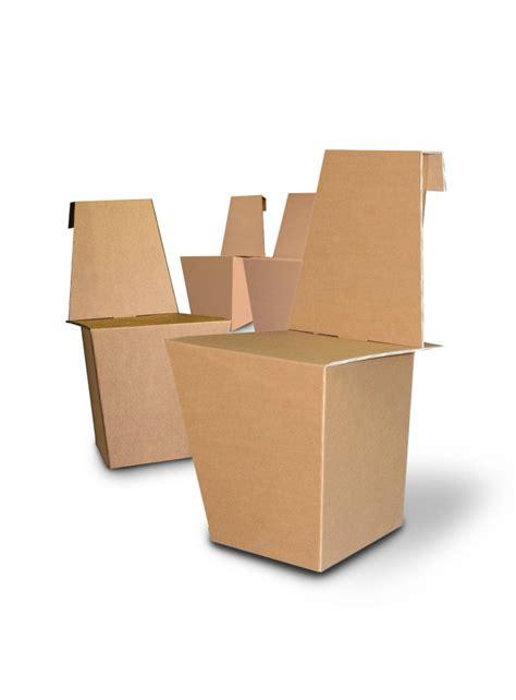 sedie leggere coppia di sedie leggere di ecodesign in cartone modello