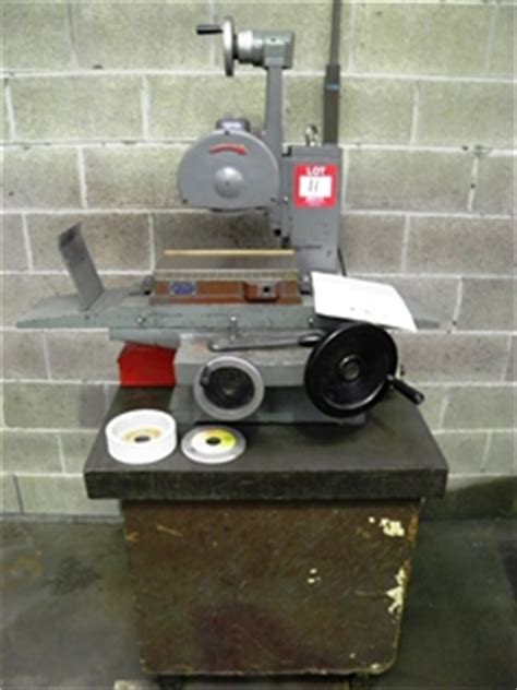 bench surface grinder targe bench top surface grinder auction 0011 3001354