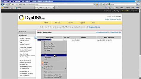 forwarding dynamic ip linksys wrt160n ddns