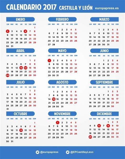 Calendario Laboral 2017 El Calendario Laboral De 2017 Incluye El 2 De Enero Y El