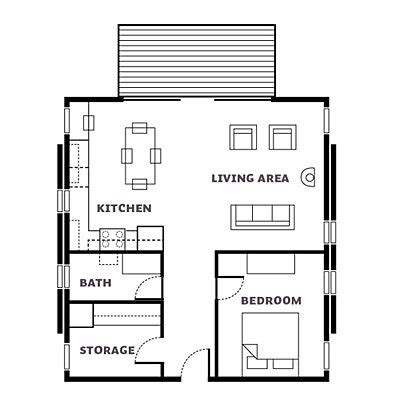 small cabin floor plan inspired cabin escape floor plans for future realities