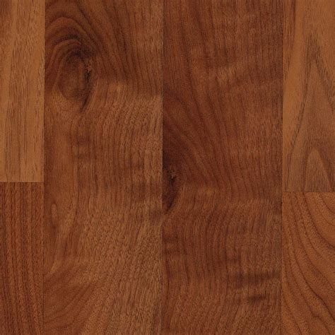 shop allen roth smooth walnut wood planks sle warmed walnut at lowes com