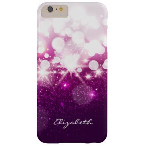 Casing Iphone 6 Plus Pink Glitter girly pink purple glitter and sparkles barely there iphone 6 plus zazzle
