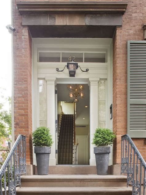townhouse entryway ideas new york city townhouse entryway