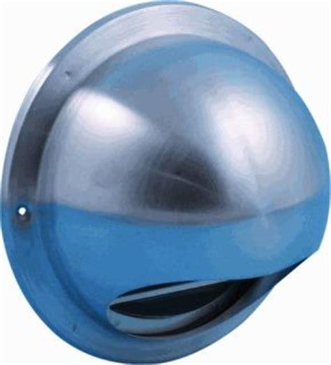 rvs plafondventilator met l nedco bolrooster 100mm rvs ventilatierooster