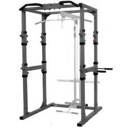 xmark fitness xm 7620 power cage squat rack w dip station